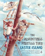 Adventures of Piratess Tilly - Easter Island 1 (cover)